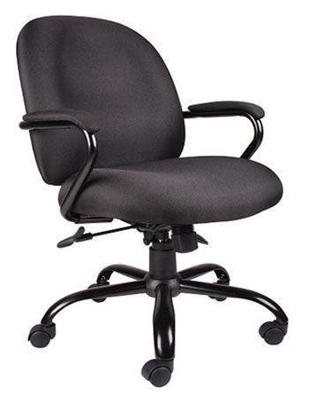 Boss Heavy Duty Task Chair w/Arms - BK