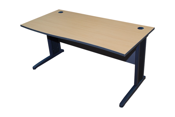 Torch 1600x700 Standard Desk - Beechwood