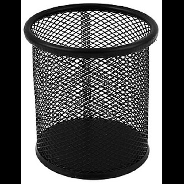 Mesh Pencil Cup - Black