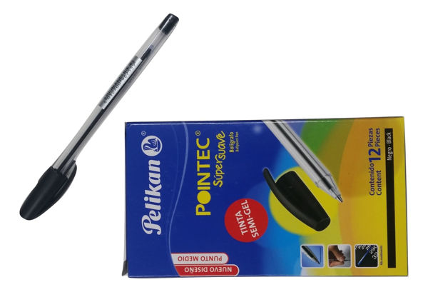 Pelikan Pointec Semi-Gel Pen Black Med.