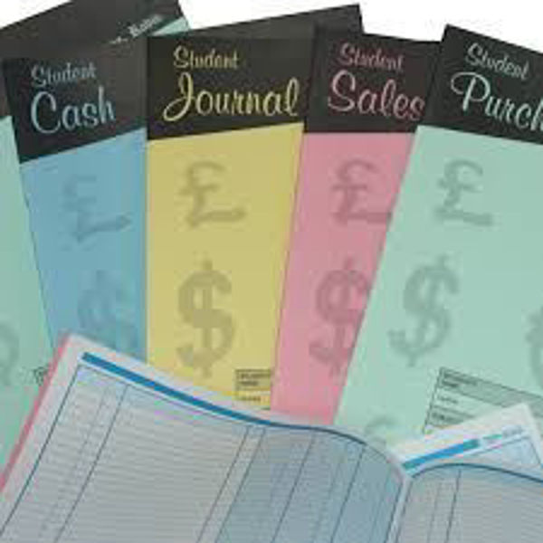 Student Accounting Book - Ledger