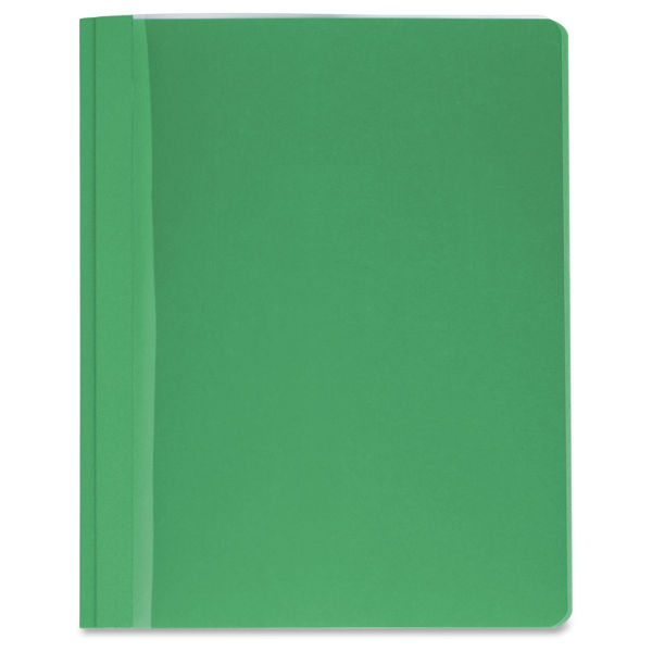 B/Source Plastic Front Folder - Green #78524