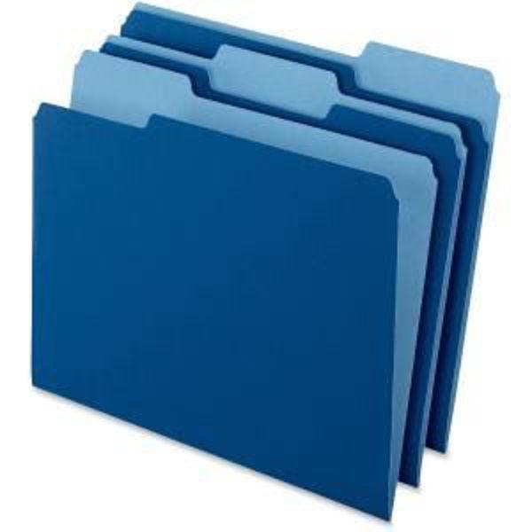 Pendaflex L/S File Folder - Navy Blue #15213