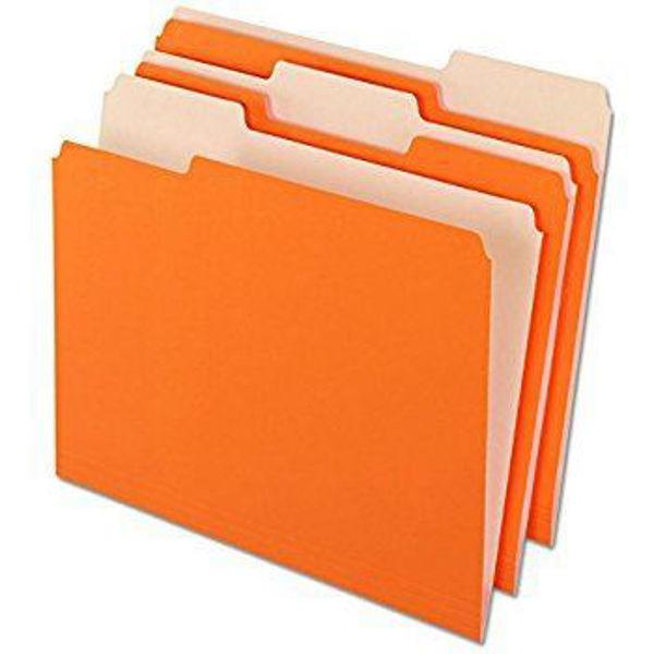 Pendaflex L/S File Folder - Orange #15213