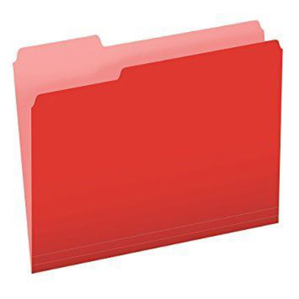 Pendaflex L/S File Folder - Red #15213