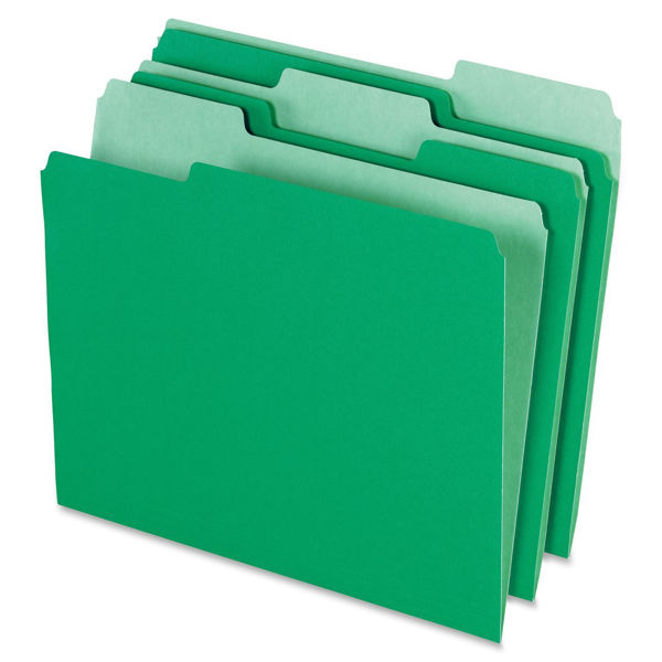 Pendaflex L/S File Folder - Green #15213