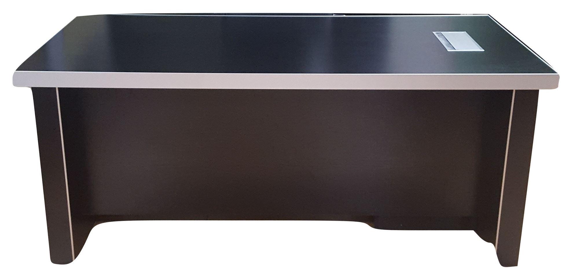 Premier 1800 x 900 Exec Desk w/Pedestal - Black