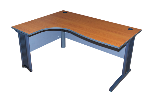Torch 1600x1200 L-Type Desk - Med. Cherry