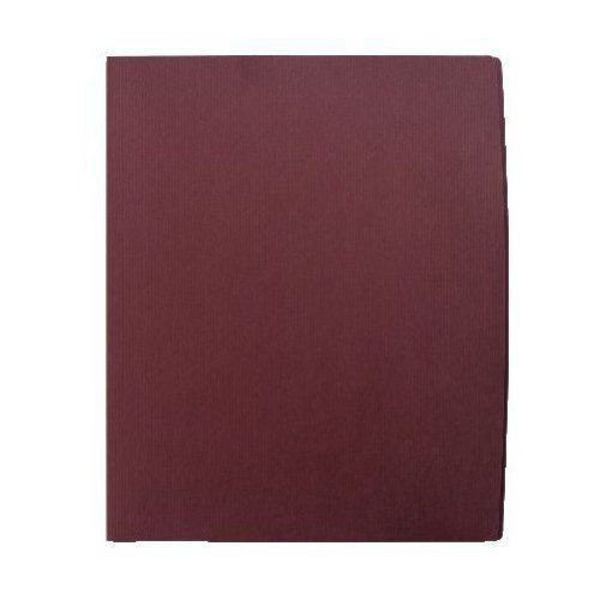 Press Kit Folder Classic Laid Purple