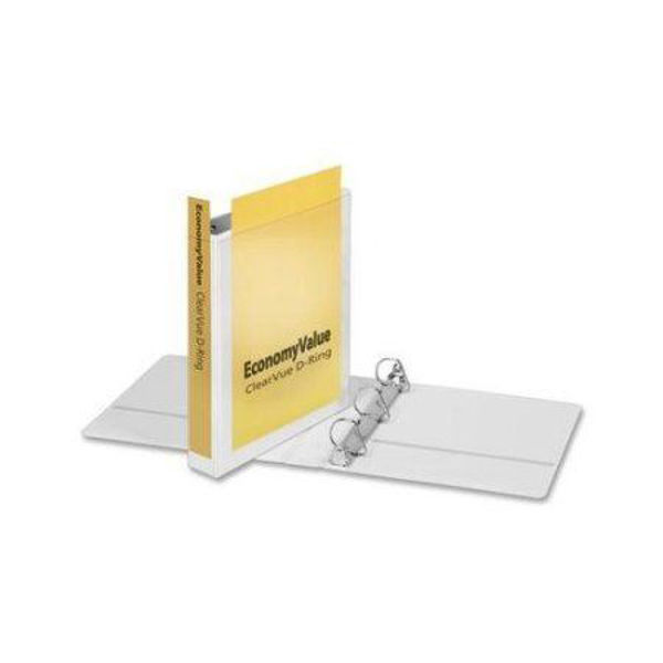 "1-1/2"" VU D-Ring Binder White #90113"