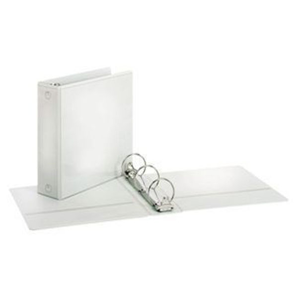 "3"" VU O-Ring Binder White"