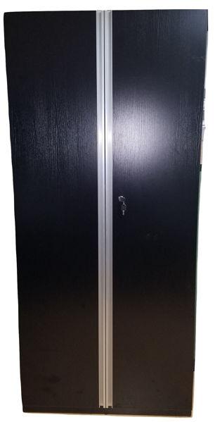 Premier 5-S Cupboard 900Wx400Dx2000H - Black