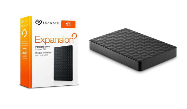 Seagate Expansion External Hard Drive - 1TB