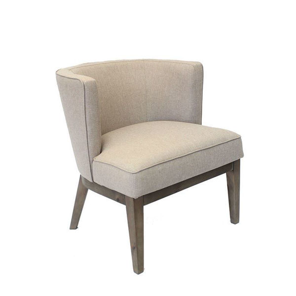 Boss Driftwood Reception Chair - Sand