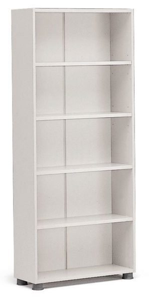Supertech 5-Shelf Open Cabinet