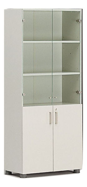 Solid/Glass Doors for Supertech 5-S Cabinet
