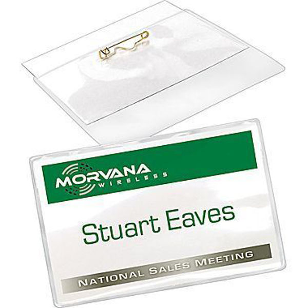 Avery 2-1/4 x 3-1/2 Pin Style Name Badge #74549