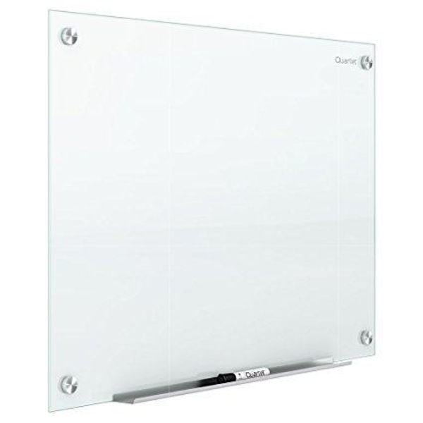 Quartet 36x24 Glass Marker Board - White #G3624W