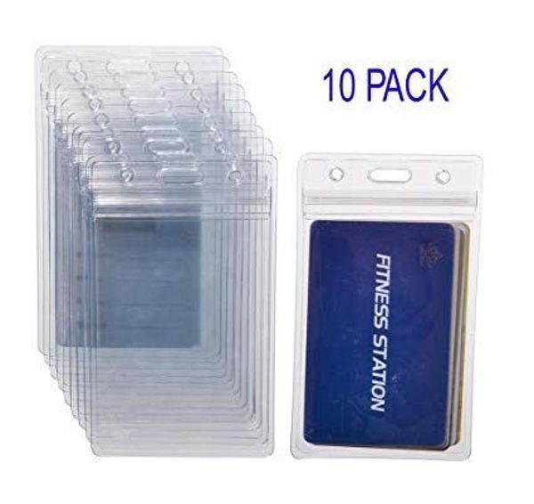 CF 3-1/4 x 4-3/4 ID Card Holders (10) (Vertical)