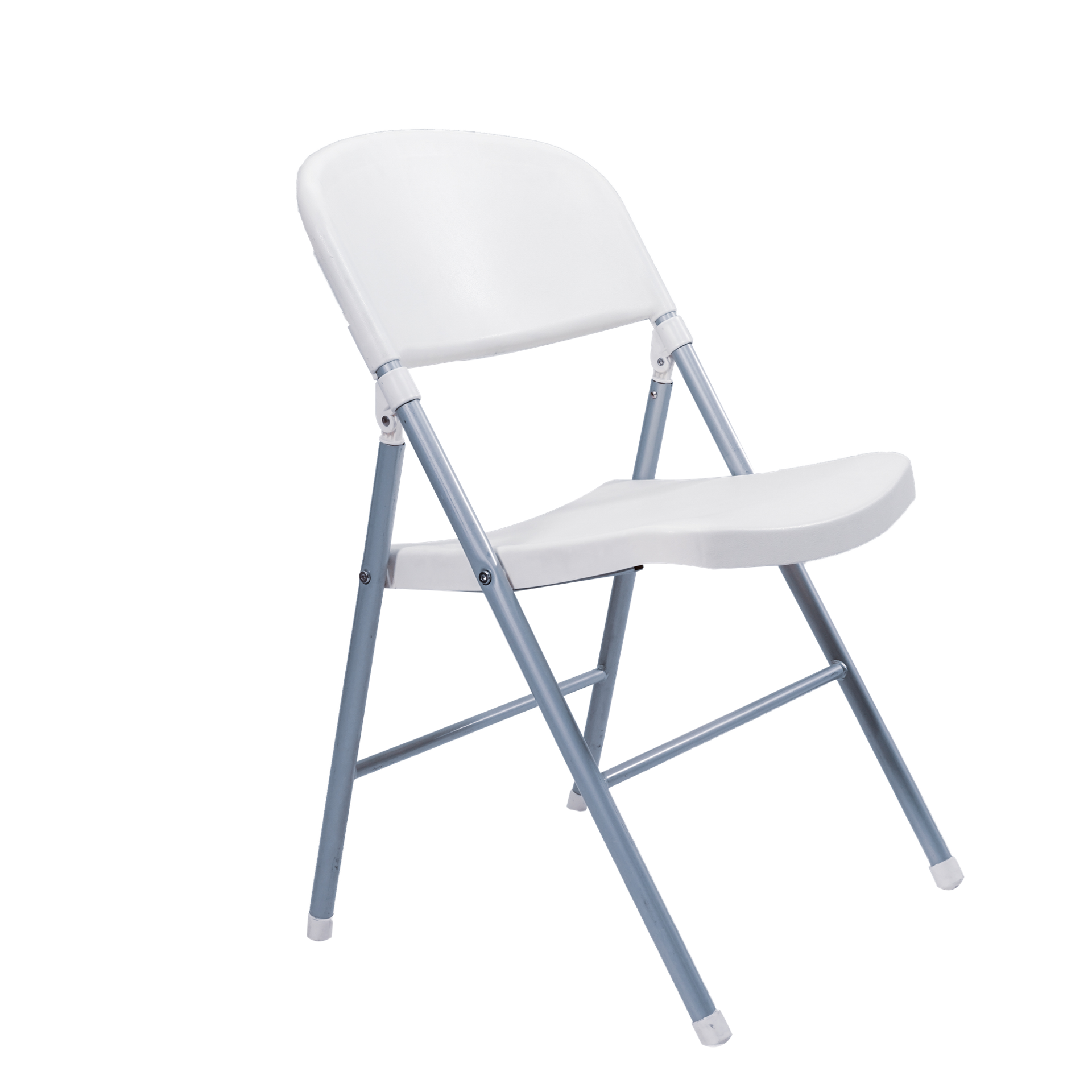 Image Plastic Folding Chair - Off White