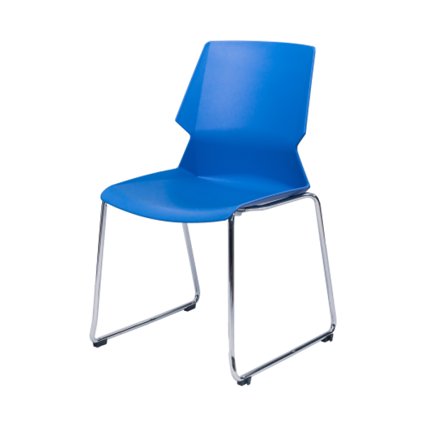 Image Stack Chair w/Chrome Frame