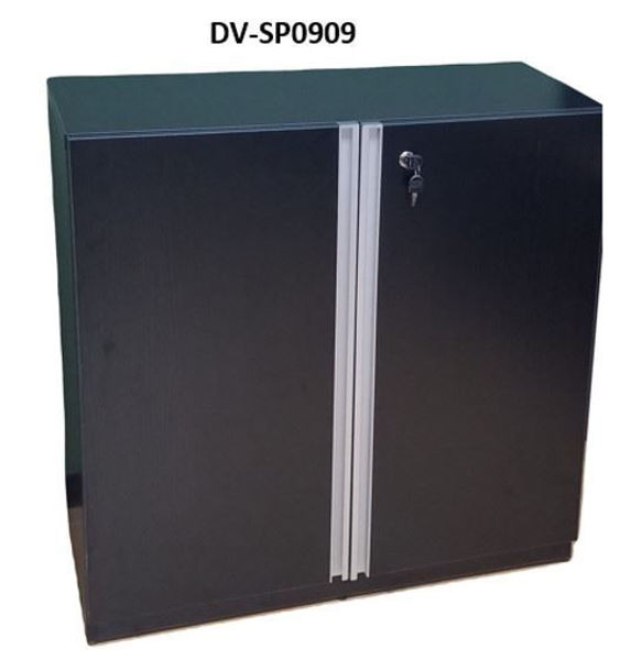 Premier 2-S Cupboard 900Wx400Dx900H - Black