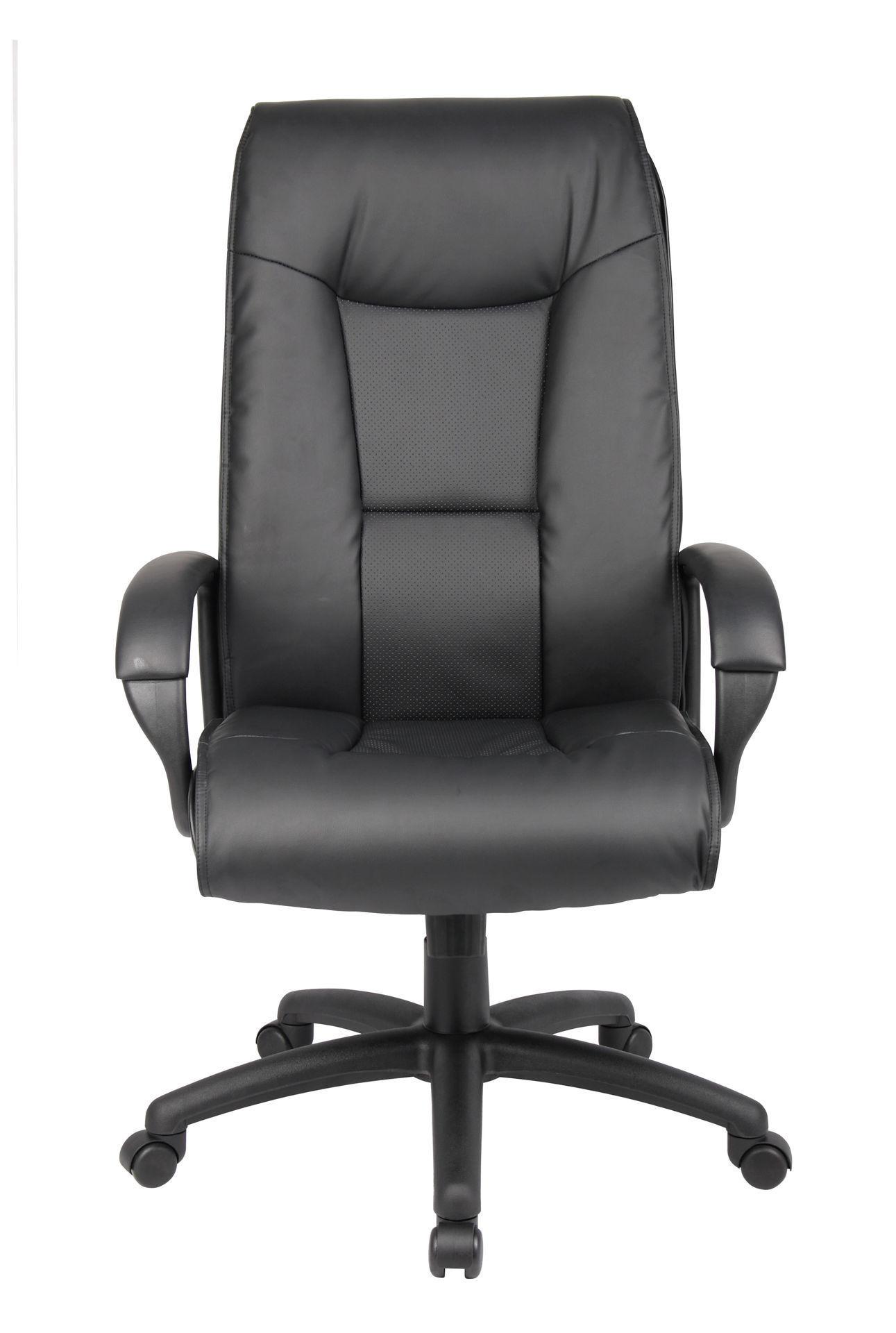 Boss High Back Padded Exec. Chair - Black