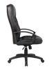 Boss H.B. Exec. Leather Plus Chair - Black