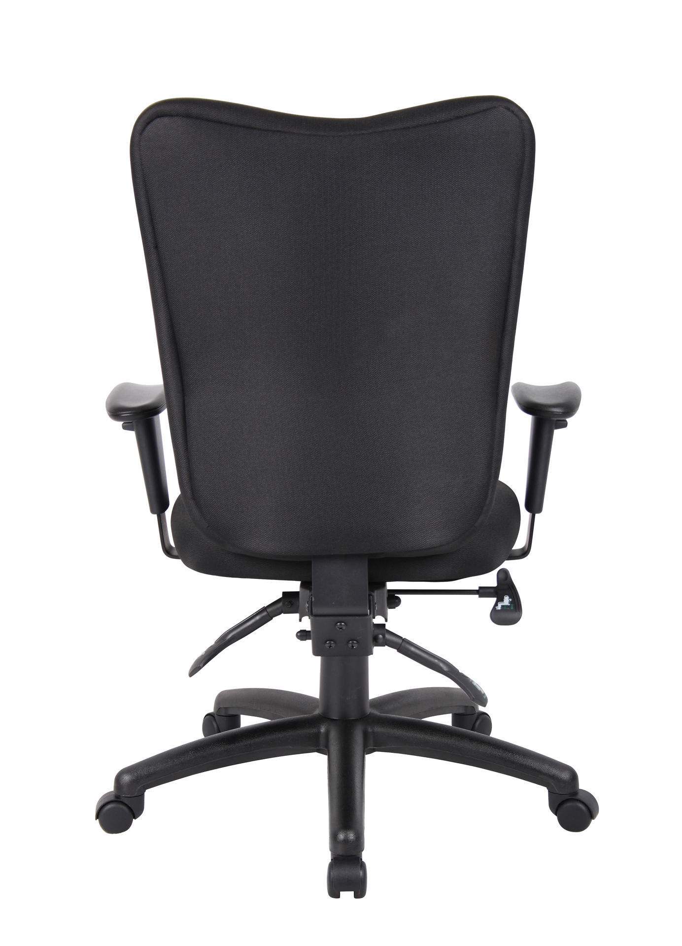 Boss Multi-Function Task Chair w/Arms - Bk