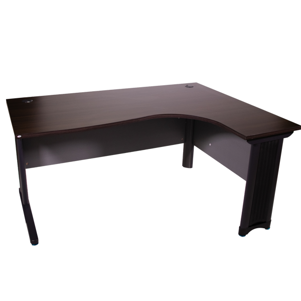 Picture of ST-D362R BW Torch 1600x1200 L-Type Desk - Black Walnut