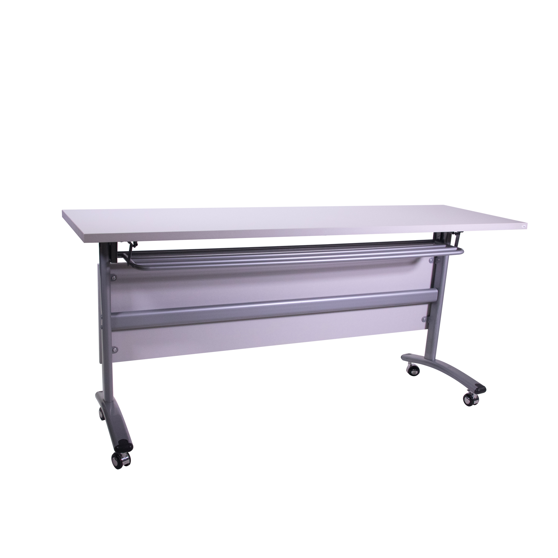 Torch 1600 Folding Table w/Modesty Panel - Grey