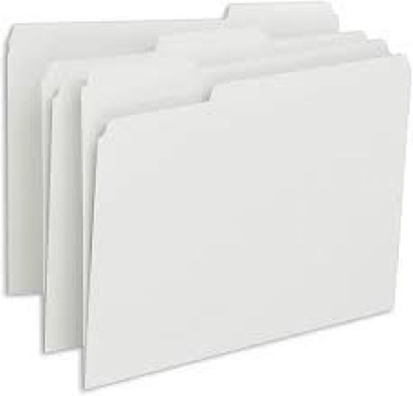 Picture of 37-003 Dynamic F/S File Folder - White
