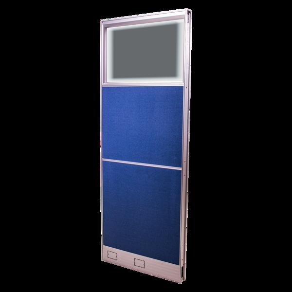 Picture of AZ-P4086 Image 800 x 1600 Panel w/Glass - Blue