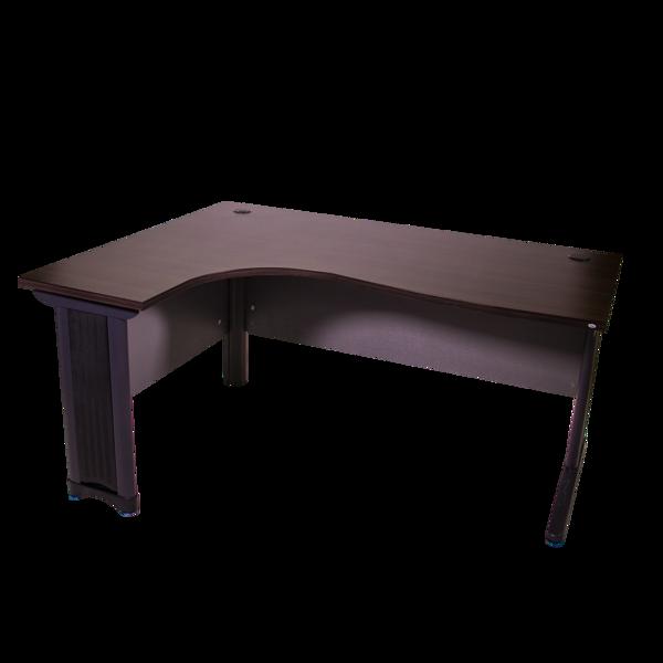 Torch 1600x1200 L-Type Desk - Black Walnut