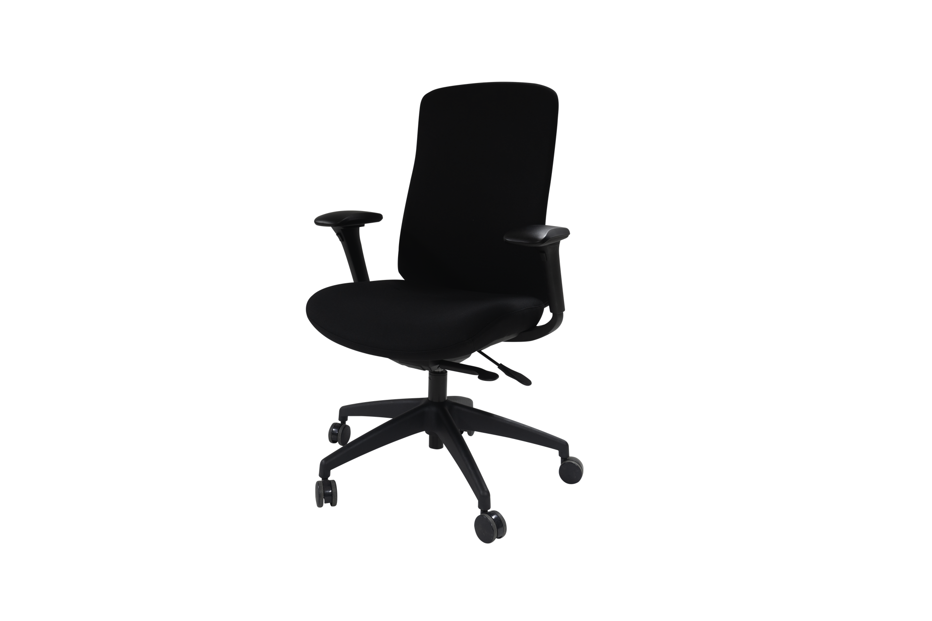 Picture of AA-5316BK  Anji (Fedo) High Back Multi-Functional Chair w/Arms - Bk