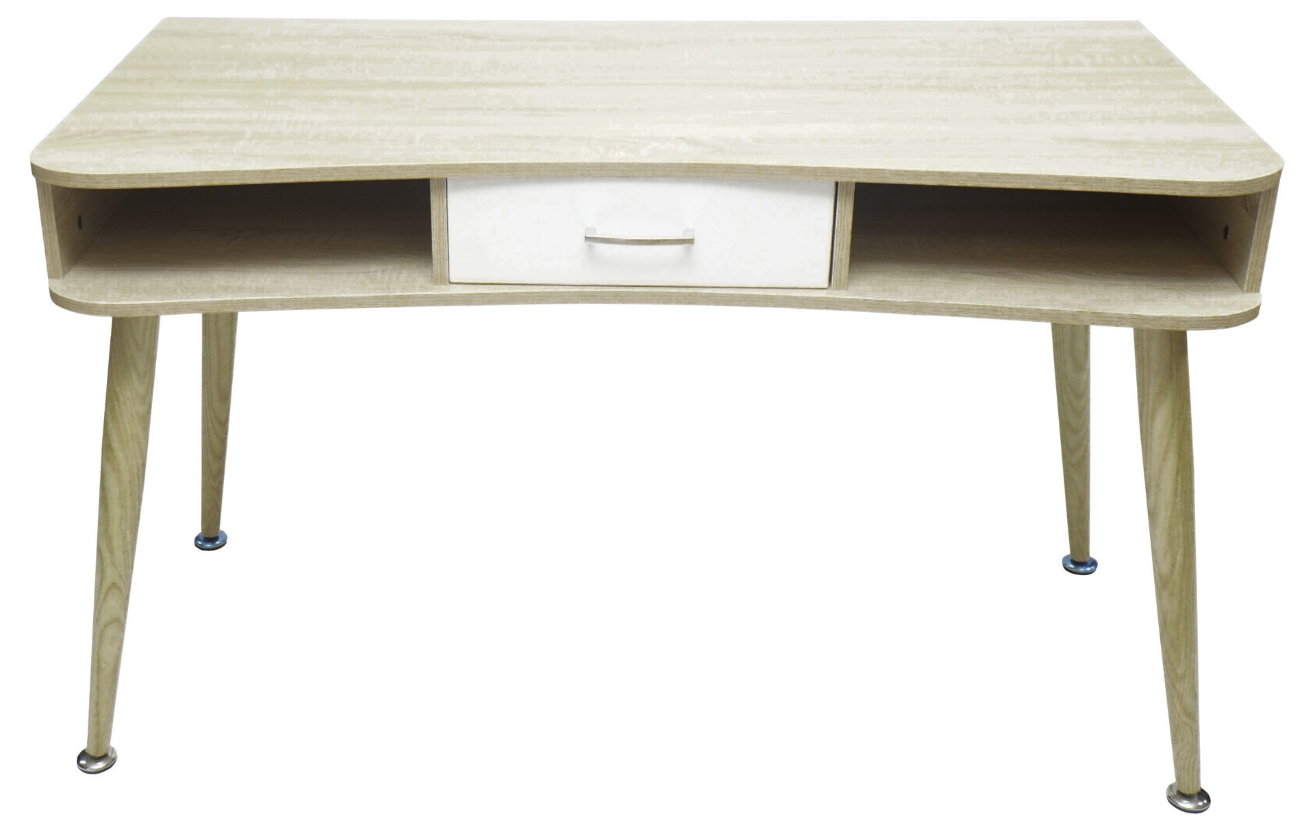 Picture of HX-001  Ulink 1200 x 600 Computer Desk w/Middle Drawer - Pine