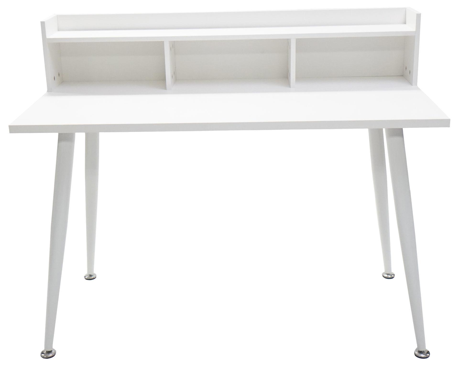 Picture of HX-009 Ulink 1200 x 600 Computer Desk w/Hutch - White