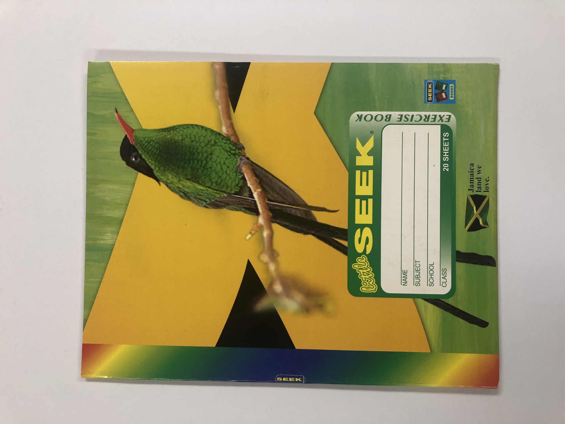 Picture of 07-048A Little Seek 20 Sheets H.C. Exercise Book (non-taxable)