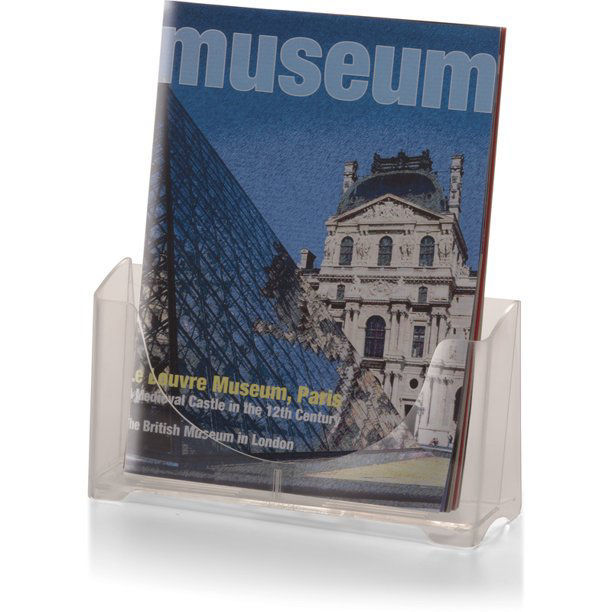 """Picture of 08-014  8 1/2"""" Magazine/Literature Holder Clear - #OIC23014"""